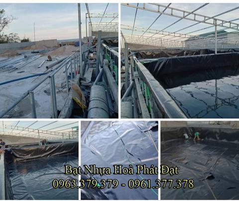 Bảng giá bạt chống thấm lót hồ chứa nước, bán màng (bạt) nhựa đen HDPE lót ao hồ nuôi cá tôm ở tại Trà Vinh
