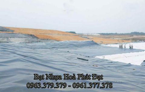 Bảng giá bạt chống thấm lót hồ chứa nước, bán màng (bạt) nhựa đen HDPE lót ao hồ nuôi cá tôm ở tại Mỹ Tho Tiền Giang