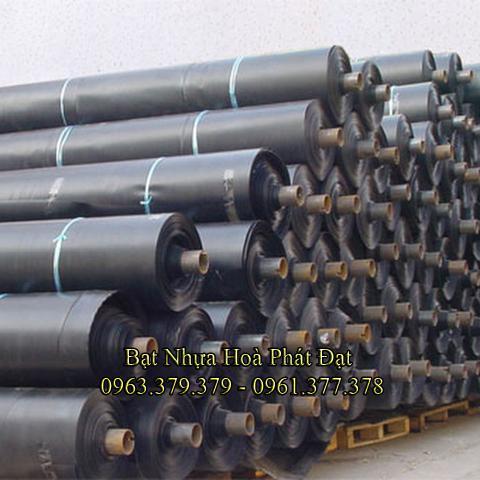 Bảng giá bạt chống thấm lót hồ chứa nước, bán màng (bạt) nhựa đen HDPE lót ao hồ nuôi cá tôm ở tại Tân An Long An