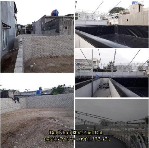 Bảng giá bạt chống thấm lót hồ chứa nước, bán màng (bạt) nhựa đen HDPE lót ao hồ nuôi cá tôm ở tại Đà Lạt Lâm Đồng