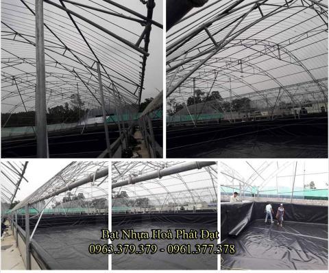 Bảng giá bạt chống thấm lót hồ chứa nước, bán màng (bạt) nhựa đen HDPE lót ao hồ nuôi cá tôm ở tại Lào Cai