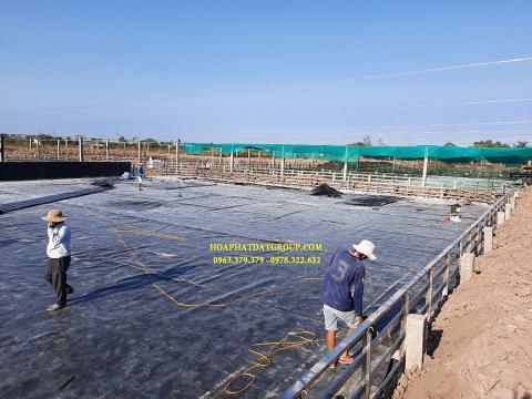 Bảng giá bạt chống thấm lót hồ chứa nước, bán màng (bạt) nhựa đen HDPE lót ao hồ nuôi cá tôm ở tại Lạng Sơn