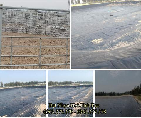 Bảng giá bạt chống thấm lót hồ chứa nước, bán màng (bạt) nhựa đen HDPE lót ao hồ nuôi cá tôm ở tại Kon Tum